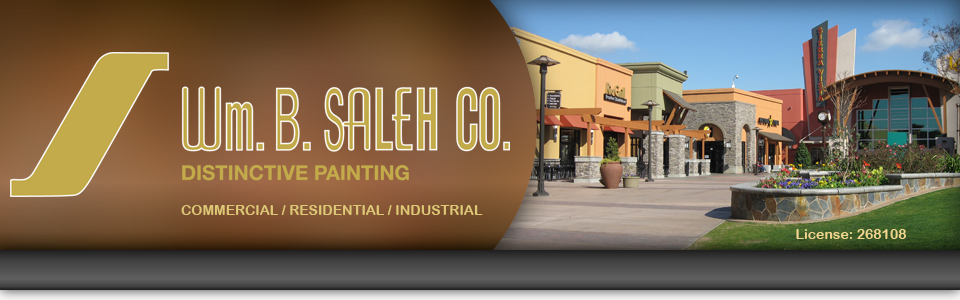 Wm. B. Saleh Co. is a full service painting, coating, and wall covering company dedicated to meeting the needs of its customers. We service the entire state of California as well as selected out of state projects.